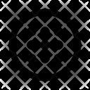Dots Circle Menu Icon
