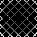 Dots Horizontal Dots Menu Icon
