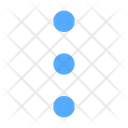 Dots Vertical Dots Menu Icon