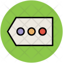 Dotted Bullets Tag Icon