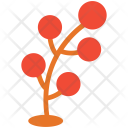 Dotted leaf Icon