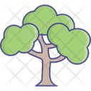 Dotted Leafs Generic Tree Nature Icon