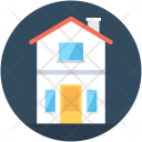 Double Story House Icon