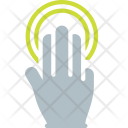 Double Tap Finger Icon