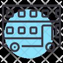 Double Decker Public Icon