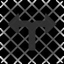 Double Direction Arrow Icon