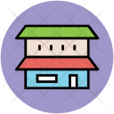 Double Story Home Icon