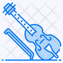 Double Bass Guitar Musical Instrument Icon