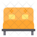 Double Bed Bed Relax Icon