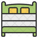 Double Room Bed Icon