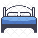 Bedroom Bed Home Icon
