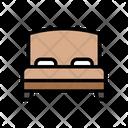 Bed Hotel Sleep Icon