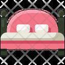 Bed Bedroom Sleep Icon