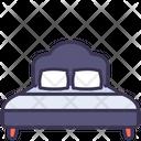 Bed Double Sleep Icon