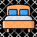 Hotel Room Travel Icon