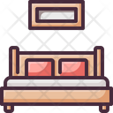Bed Double Hotel Icon