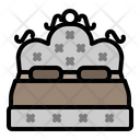 Double Bed Bed Decoration Icon
