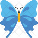 Double Blue Insect Icon