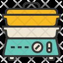 Double Boiler Heat Icon