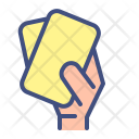 Double Card Foul Icon