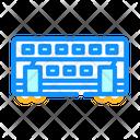 Double Deck Train Icon