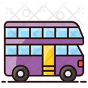 Double Decker London Bus Bus Icon