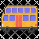 Double Decker Local Transport Public Transport Icon