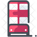 Double Decker Bus Icon