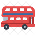 Ired Double Decker Bus Double Decker Bus Bus Icon