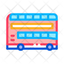 Double Decker Sightseeing Icon
