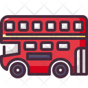 Double Decker Bus English United Kingdom Icon