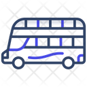 Double Decker Bus Local Transport Public Transport Icon