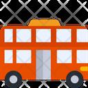 Double Decker Bus Bus Transport Icon