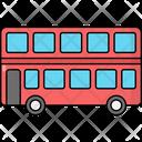 Double Decker Bus Double Decker Bus Icon
