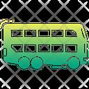 Double Decker Bus Bus Vehicle Icon