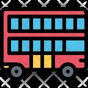 Double Decker Vehicle Icon