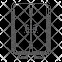 Double Door Fridge Refrigerator Fridge Freezer Icon