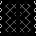 Double Door Fridge Icon