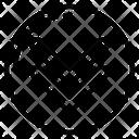 Double Down Arrow Icon