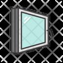 Double Glazing Isolate Glass Icon