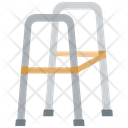 Double handle crutches Icon