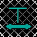 Double Head Arrows Icon