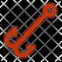 Double Hook Icon