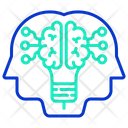 Itechnology Ai Double Mind Ai Mind Icon