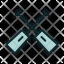 Double Paddle Icon