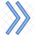 Double right arrow Icon