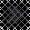 Fast Right Orientation Icon
