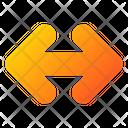 Double Side Arrow Icon