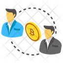 Double Spending Bitcoin Transactions Bitcoin Traders Icon