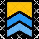 Double Stripe Badge Icon